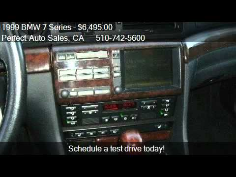 1999 BMW 7 Series 740iL - for sale in FREMONT, CA 94536