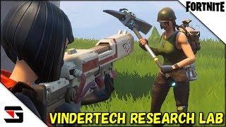 FORTNITE #37 VINDERTECH RESARCH LABミッションに挑む!