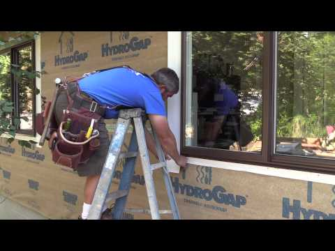 THISisCarpentry Features HydroGap in Window Installation
