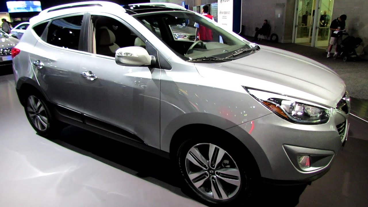 2014 Hyundai Tucson Limited Exterior And Interior