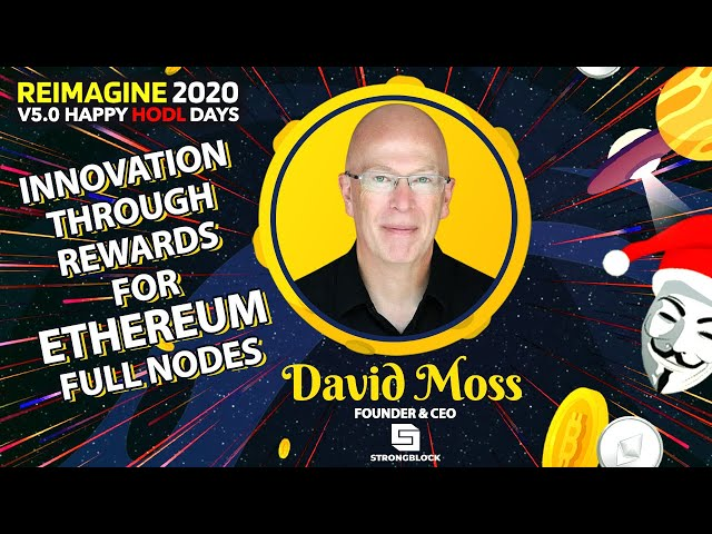 David Moss - StrongBlock - The Technological Manifestation of Governance