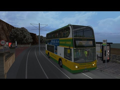 OMSI 2 Yorkshire Counties made by  Sylar route  X14 with London Citybus 400