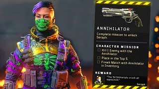 Blackout: How to UNLOCK Seraph! (Annihilator Location Guide)
