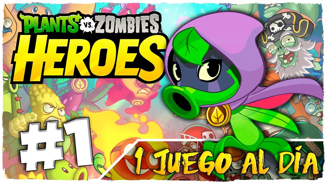 Plants Vs Zombies Heroes Parte 1 Espanol Green Shadow 1