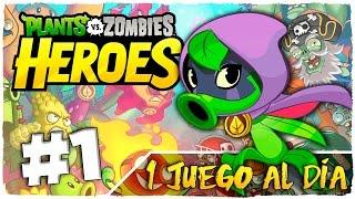 👉 PLANTS VS ZOMBIES HEROES | PARTE 1 ESPAÑOL - GREEN SHADOW | 1 JUEGO AL DÍA | JUEGO ANDROID GRATIS