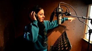 Afghan female rapper seeks reason with rhyme