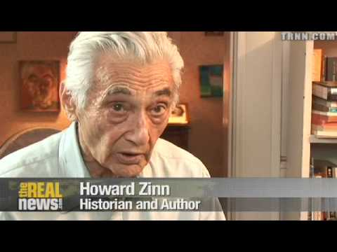 Howard Zinn: Vote for Obama but direct action needed
