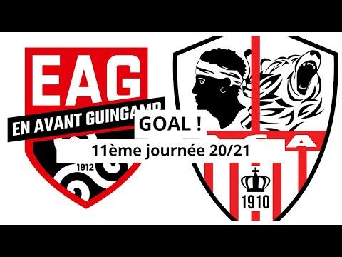 Guingamp AC Ajaccio Goals And Highlights