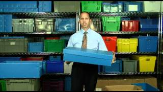Corrugated Plastic Containers & Totes