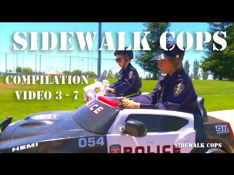 Sidewalk Cops Compilation Episodes 3 - 7!