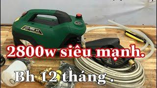 Máy rửa xe mini cao áp zucui s7 2800w siêu mạnh mà giá rẻ à /Máy Xây Dựng Thái Bảo,