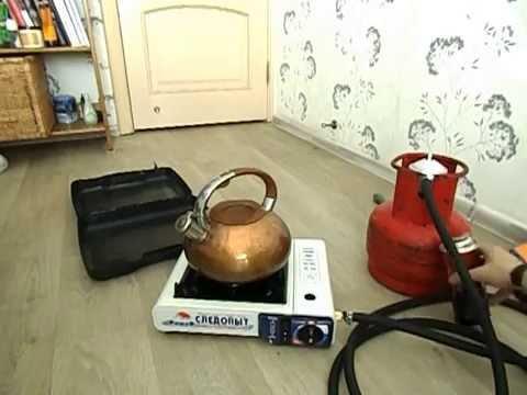 Установка и подключение газовой плиты - YouTube