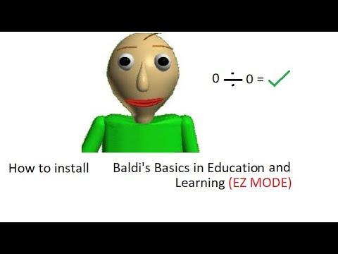 baldis basics super easy mode - baldi mod download