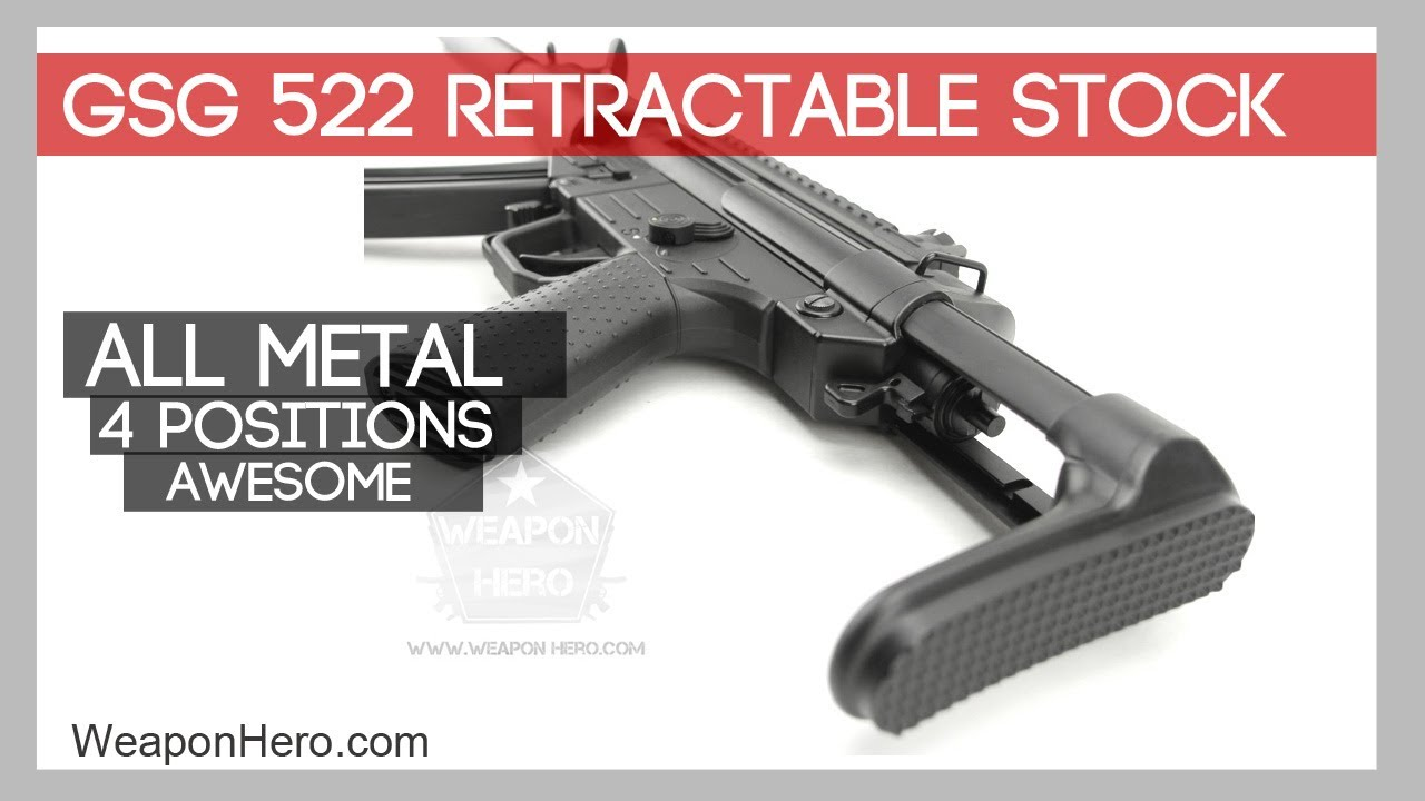 GSG 522 Retractable Stock