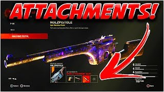 WW2 Zombies - How to Add Attachments to Your Weapons! | Call of Duty WW2 Zombies Attachment Tutorial