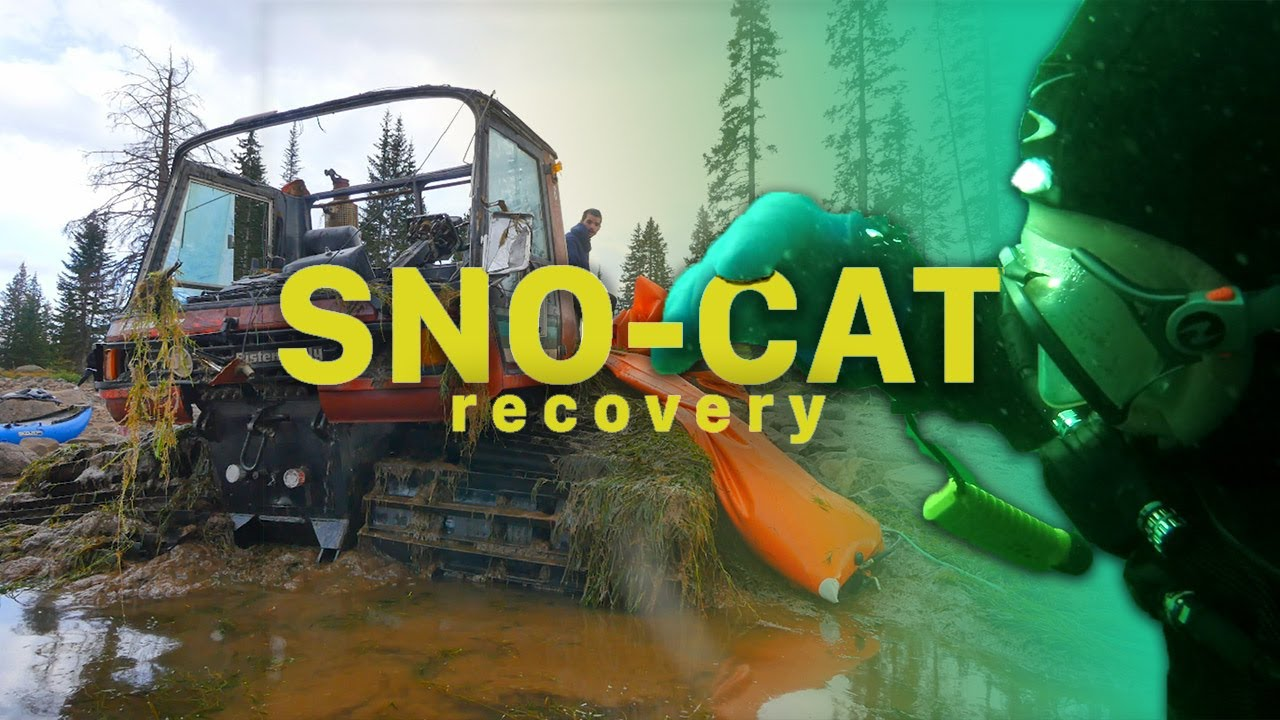 Snowcat Recovered 18-Months After Falling Through Ice!