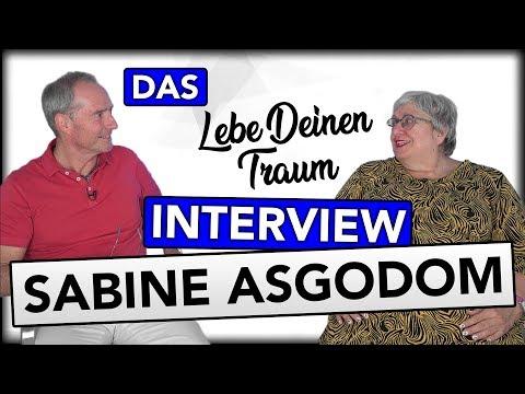 Interview mit Sabine Asgodom | Werdegang, Selbstliebe, Coaching, Lebe Deinen Traum