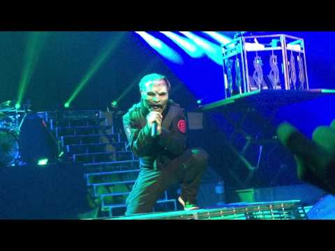 Slipknot Live Halloween 2016 ( Front Row)