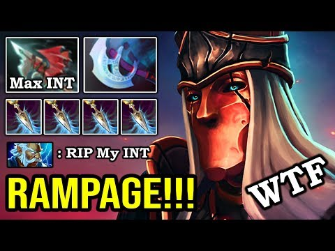 NEW 7.24 IMBA DOUBLE RAMPAGE MID SILENCER Deleted Enemy In 2s Crazy Max INT Buff DotA 2