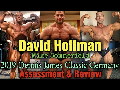 Big Rami & David Hoffman & Mike Sommerfeld @ The Dennis James Classic. + I Review MY OWN PHYSIQUE!!