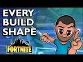 EVERY BUILDING SHAPE IN FORTNITE - All build shapes in Fortnite Save the World and Battle Royale