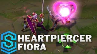 Heartpiercer Fiora Skin Spotlight - League of Legends