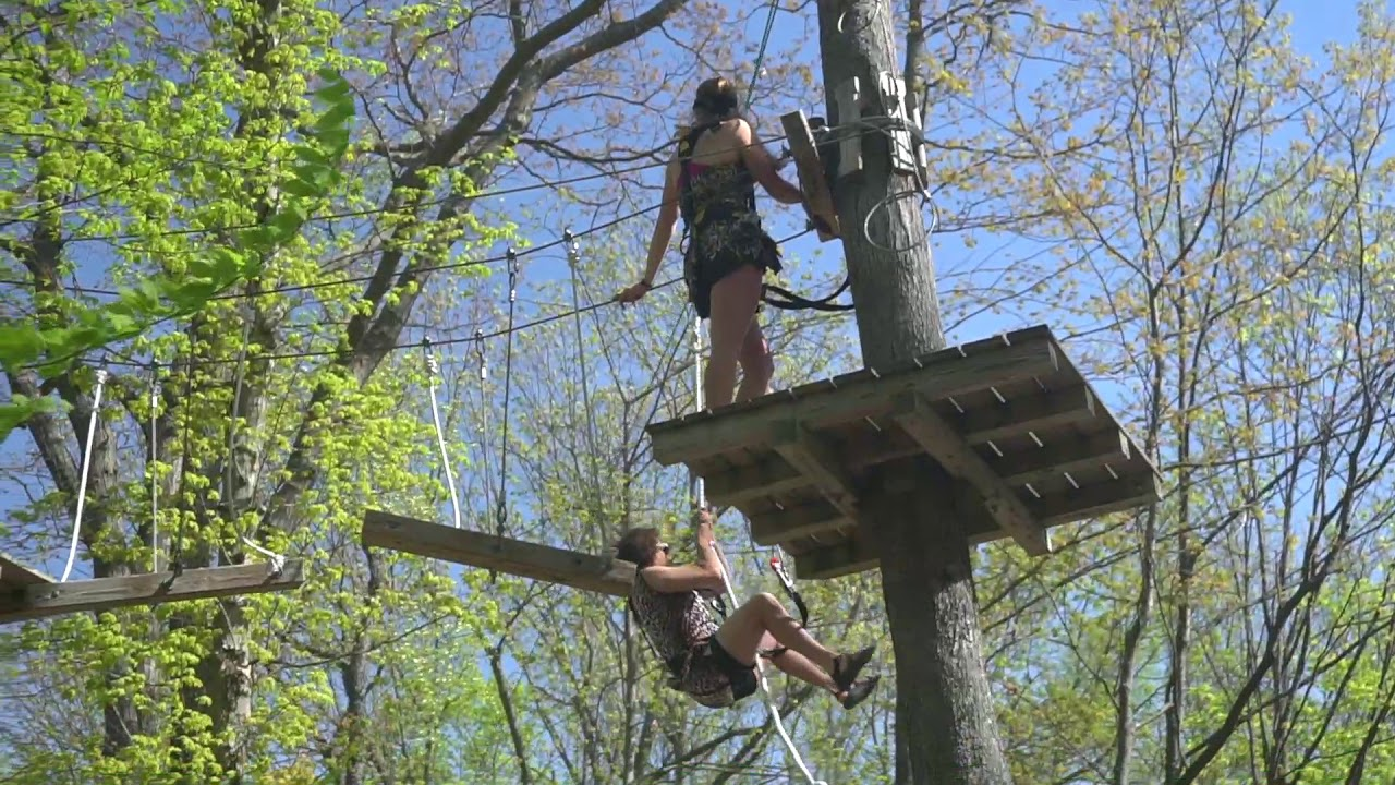 Holiday Valley Aerial Adventure Park Zip Line Parks In Ny