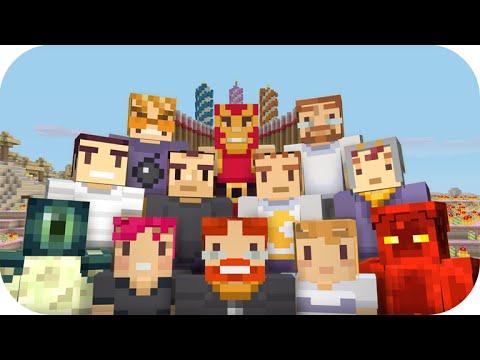 ★Minecraft Xbox 360 + XB1 NEW 3RD Birthday Skin Pack Full ... Xbox One Skins Minecraft