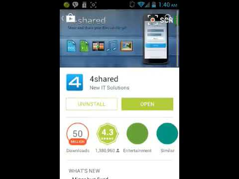 How to install 4shared on any device!