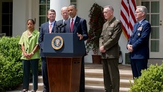 The President Speaks at the Nomination of the Chairman of the Joint Chiefs of Staff