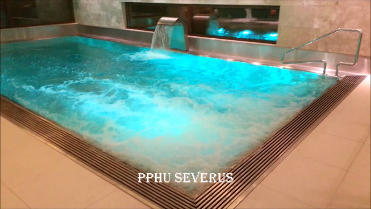 Pphu severus basen ze stali nierdzewnej stainless steel swimming edelstahl pools pool youtube - Swimmingpool edelstahl ...