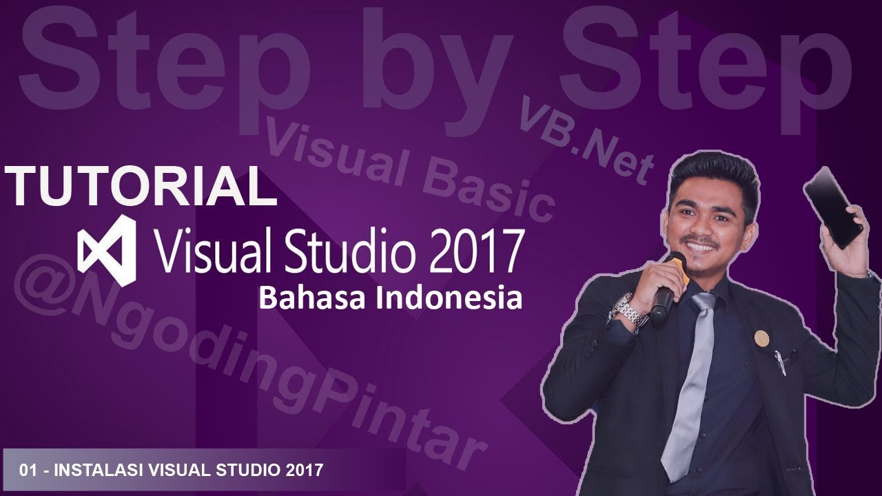 Tutorial visual basic 2008/2010 bahasa indonesia #2 messege box.