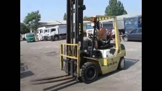 Вилочный бензиновый погрузчик TCM FG20N3 с мачтой 4.5 метров