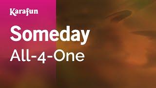 Karaoke Someday - All-4-One *