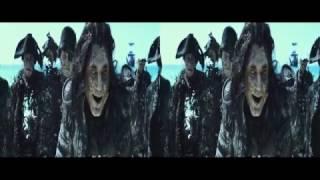 Пираты Карибского моря: Мертвецы не рассказывают сказки. Русский трейлер (N) 3D 2K