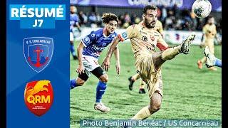 J7 : US Concarneau - Quevilly Rouen Métropole (0-0), le résumé | National FFF 2019-2020