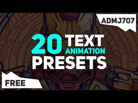 Motion Text Maker - After Effects Template [ Motion Graphics