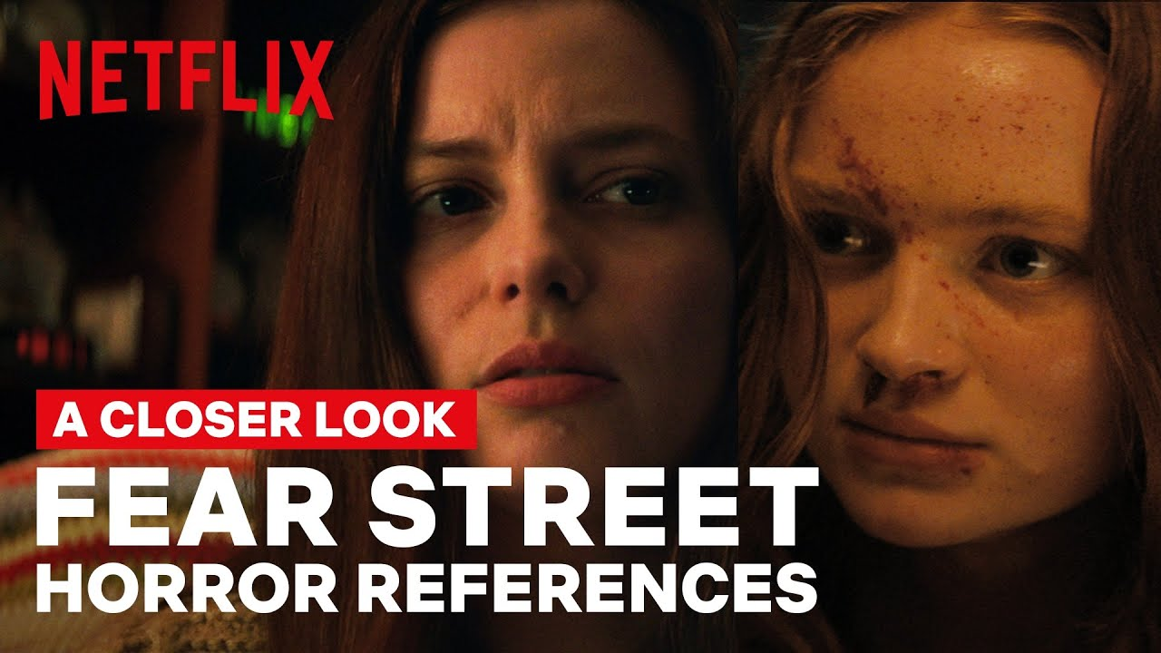 A Closer Look at the FEAR STREET TRILOGY Horror Movie References | Netflix Geeked