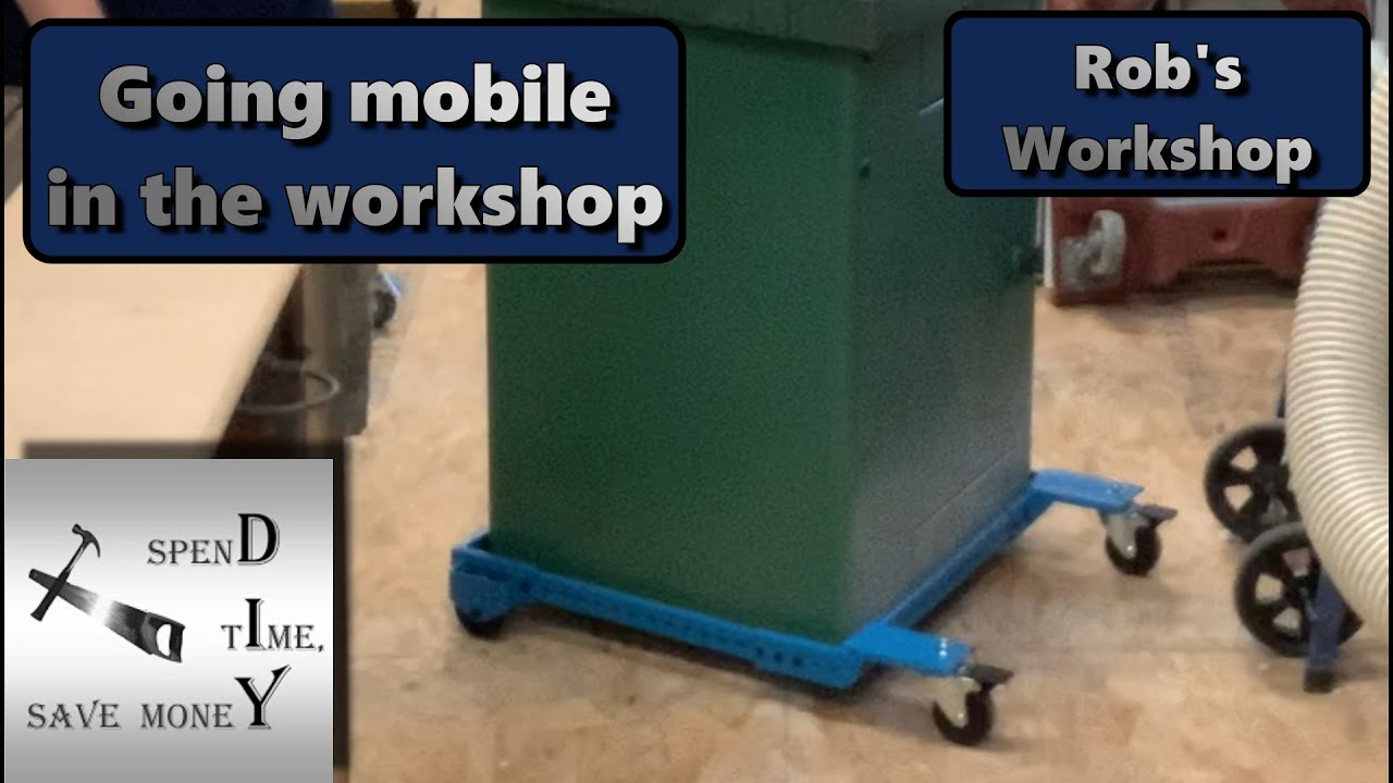 Going mobile in the workshop