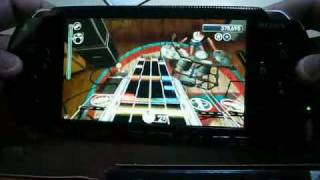 Rock Band Unplugged gameplay for PSP - Pearl Jam - Alive - Expert