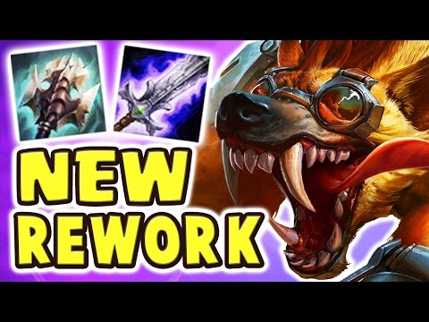 THE BEST JUNGLER EVER | NEW WARWICK REWORK JUNGLE SPOTLIGHT | 1-SHOT ULTIMATE 20 KILLS  - Nightblue3