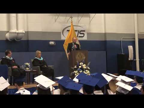 Murr From Impractical Jokers Speech at Peninsula Catholic High School Graduation 2018