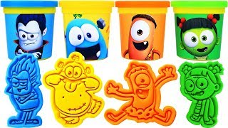 Gambar cover Play-Doh Spookiz Molds & Surprise Eggs, Learn Colors, nursery rhymes