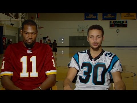 Thumbnail: Steph Curry & Kevin Durant Shade LeBron James and Cavs, Fight over Redskins Vs Panthers