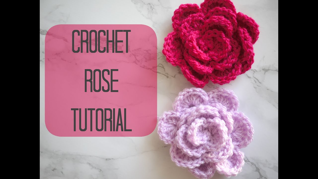 Crochet A Flower : CROCHET: How to crochet a rose/flower Bella Coco - YouTube