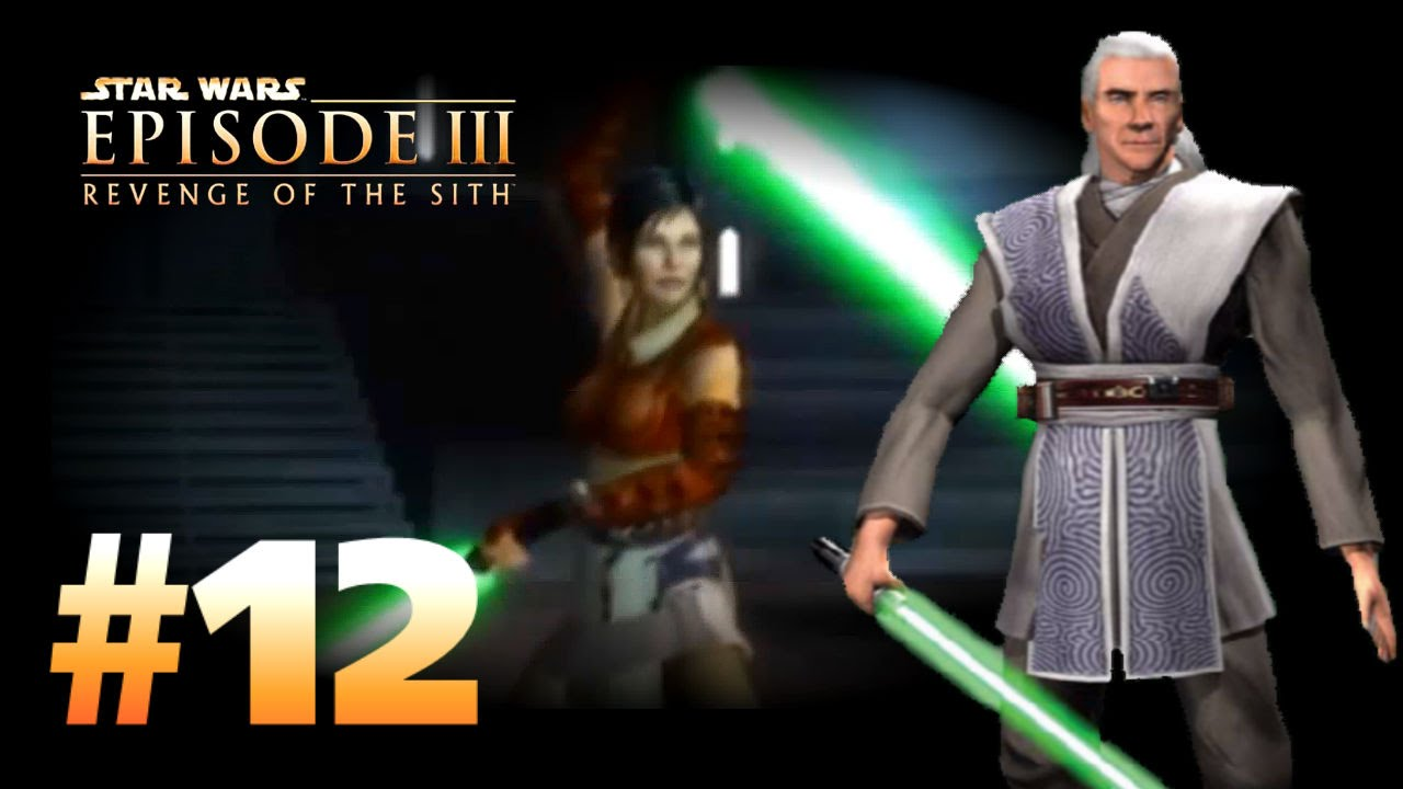 Star Wars Episode 3 Revenge Of The Sith Ps2 Walkthrough Part 12 The Final Lesson Cin Drallig Youtube