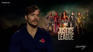 Henry Cavill brought his dog to interviews for