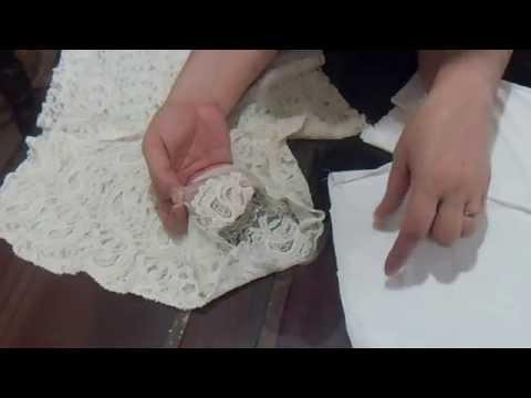✂ Como hacer shorts de encaje forrado