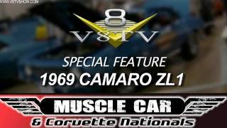 2011 Muscle Car And Corvette Nationals MCACN 1969 ZL1 Camaro Video V8TV