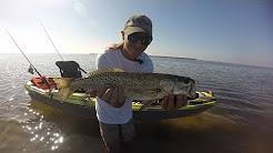 Kayak Fishing; The Hard Way